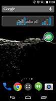 Screenshot of SA Airplane Mode Widget