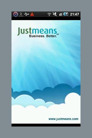Justmeans - CSR Green update