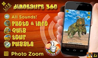 Screenshot of Dinosaurs 360