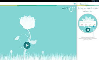 Screenshot of VGZ Mindfulness coach