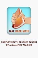Screenshot of Algebra