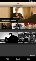 Screenshot of Veterans Matter