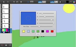 Screenshot of Animate Pro!