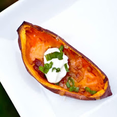 Elegant Sweet Potato Skins