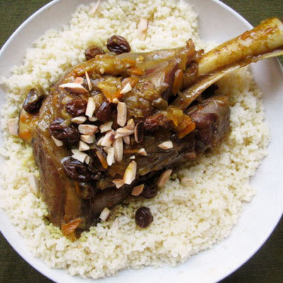 Curried Lamb Shanks