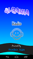 Screenshot of Albania Radio
