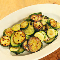 Zucchini with Anchovies and Capers