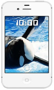 Whale Killer HQ live wallpaper - screenshot