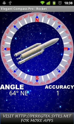 Elegant Compass Pro - Rocket