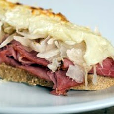 Open-Faced Reuben