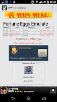 Screenshot of MW Emulation