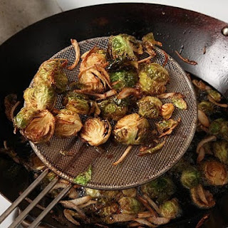 Fried Brussel Sprouts And Balsamic Vinegar Recipes