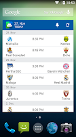 Screenshot of SofaScore Live World Cup 2015
