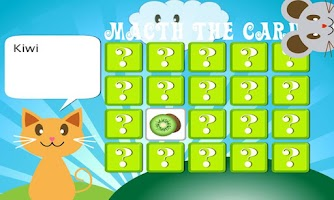 Screenshot of QCat-Toddler's game: Fruit