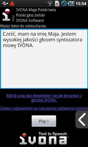 IVONA Maja Polish beta