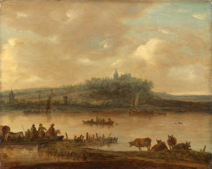 RIJKS: manner of Jan van Goyen: painting 1645