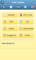 Screenshot of Il Mio Cedolino