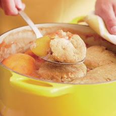 Peach-Almond Cobbler