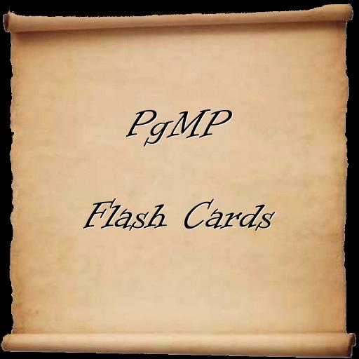 PgMP Flash Cards