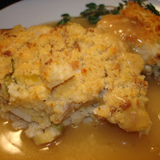 Baby's Thanksgiving Cornbread Dressing