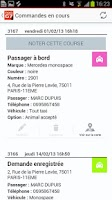 Screenshot of TAXIS G7 Personal taxi booking
