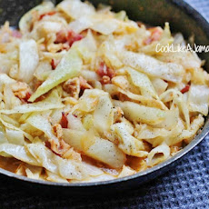 Jamaican Cabbage and Saltfish