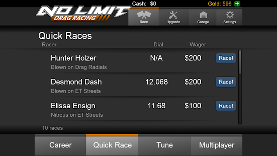 No Limit Drag Racing- screenshot thumbnail