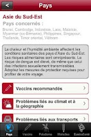 Screenshot of VIDAL du Voyageur