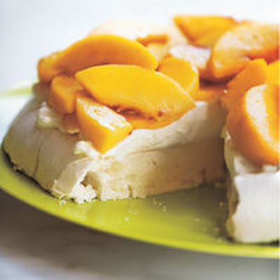 Peaches 'n' Cream Meringue