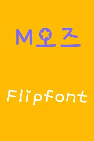 M_OZ Korean FlipFont
