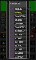 Screenshot of Mathex Scientific Calculator