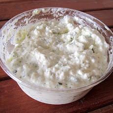 Romanian Herbed Cheese Spread