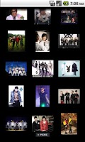 Screenshot of BigBang Gallery
