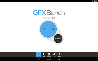Screenshot of GFXBench 3.0 3D Benchmark