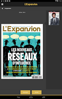 Screenshot of L'Expansion - Magazine