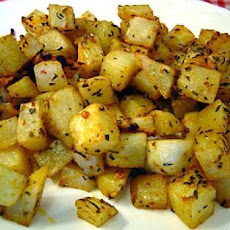Dijon-Roasted Potatoes (Weight Watchers)