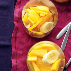 Tropical Fruit In Ginger Syrup