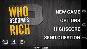 Screenshot of Who Becomes Rich (Trivia Quiz)