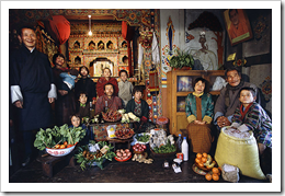 Family of Shingkhey Village