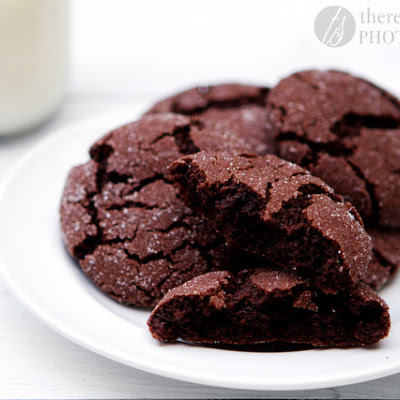 Chewy Chocolate Sugar Cookies