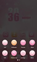 Screenshot of Abby GO Launcher Theme