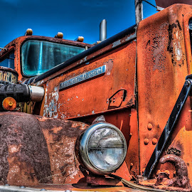 Autocar by Rick Hackley - Transportation Automobiles ( hdr, truck, rust )