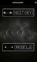 Screenshot of Audi Encyclopedia
