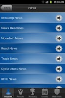 Screenshot of My USA Cycling