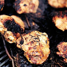 Spiced Smoky Barbecued Chicken