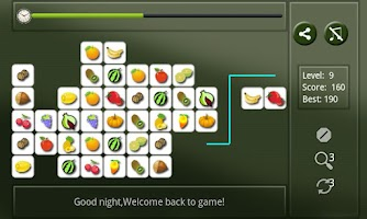 Screenshot of Cute Fruit Connect