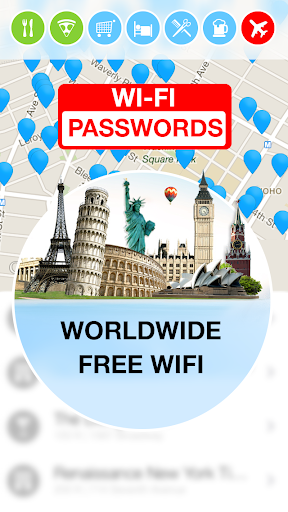 WiFi Map — Passwords - screenshot