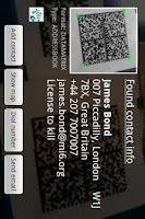 Screenshot of ixMAT Barcode Scanner