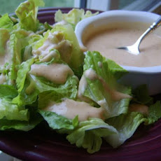 Side Salad With Chipotle Dressing
