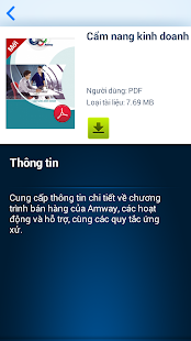AMWAY THƯVIỆN for Mobile - screenshot